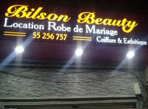 location robes de mariées chez Bilson Beauty